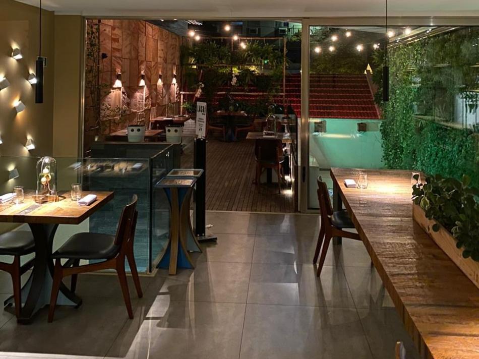 Ambiente restaurante Lasai, Rio de Janeiro