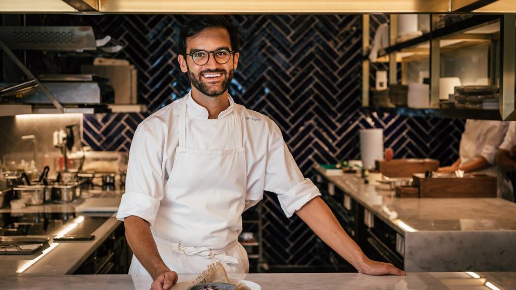 Restaurante Cura Four Seasons Lisbon, Chef pasteleiro Diogo Lopes