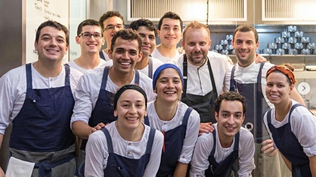 LASAI Restaurante_ Rafa Costa e Silva e equipa, com David Toutain