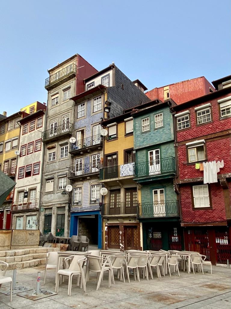 Ribeira, Porto, em época de confinamento (Foto: Rafael Tonon)