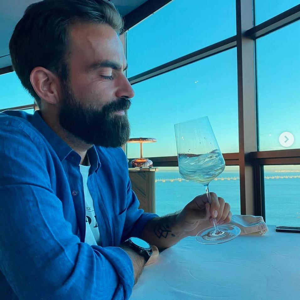 Daniel Silva, escanção do Essencial (Lisboa)