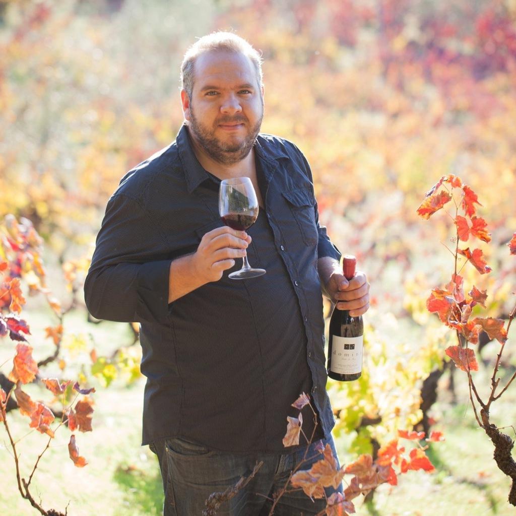 Vítor Claro, ex-chefe de cozinha e produtor de vinhos